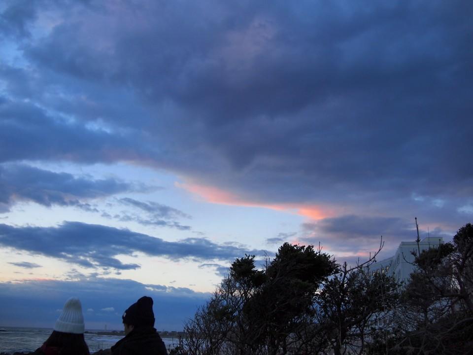 犬吠埼2015 日の出end